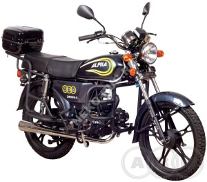 Мотоцикл ABM Alpha lux
