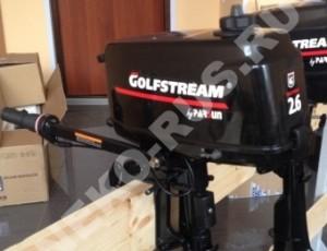 Лодочный мотор GOLFSTREAM T2.6CBMS