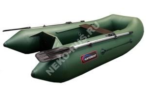Лодка Хантер 240 зелёный