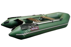 Лодка Хантер 290 ЛК зелёный