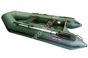 Лодка Хантер 290 ЛН зелёный