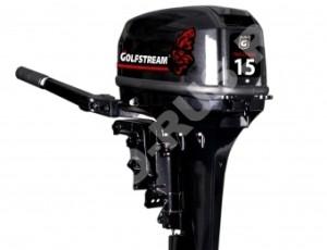 Лодочный мотор GOLFSTREAM T15+BMS
