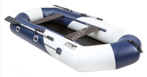 Лодка Пеликан 268 RIVER (син/бел)