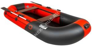 Лодка Пеликан 270 RIVER (чер/крас)