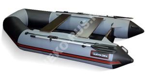 Лодка Хантер 290 ЛКА серый