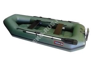 Лодка Хантер 300 ЛТН зелёный