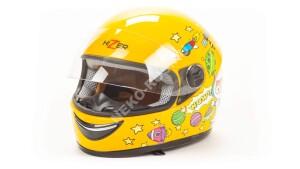 Мотошлем HIZER 105 yellow детский