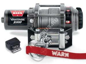 Лебедка WARN Vantage 2000 на ATV