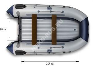 Надувная моторная лодка ФЛАГМАН 360U