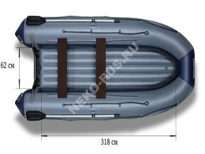 Надувная моторная лодка ФЛАГМАН 420IGLA