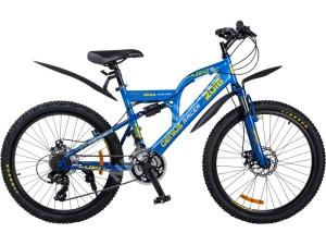 Велосипед спортивный двухподвесный RACER 24-208 (disk)