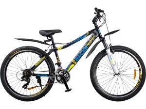 Велосипед спортивный RACER 26-124 (рама 16″) disk