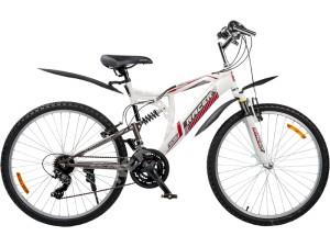 Велосипед спортивный двухподвесный RACER 26-201