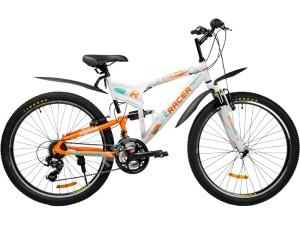 Велосипед спортивный двухподвесный RACER 26-207