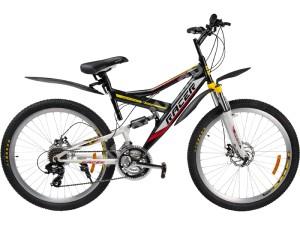Велосипед спортивный двухподвесный RACER 26-210 disk