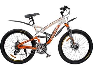 Велосипед спортивный двухподвесный RACER 26-228 disk