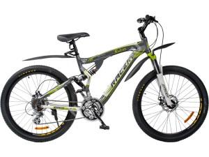 Велосипед спортивный двухподвесный RACER 26-229 disk