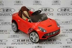 Электромобиль Ferrari O222OO  (кожа)