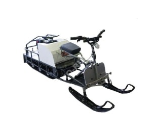 Мотобуксировщик СТЕМ Север Эксперт (15 л.с.) с лыжным модулем