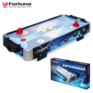 Аэрохоккей Fortuna HR-31 Blue Ice Hybrid настольный 86х43х15см