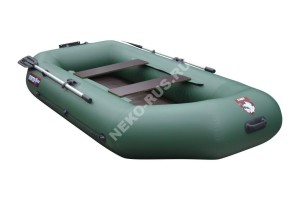Лодка Хантер 280Т зелёная