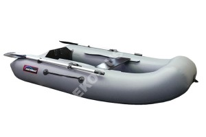 Лодка Хантер 240 серый