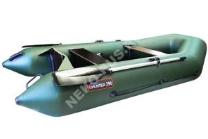 Лодка Хантер 290 Р зелёный