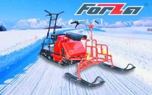 Мотобуксировщик Forza 15 л.с (электростартер) с УЛМ